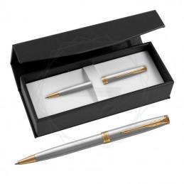 Długopis Parker Sonnet Stalowy GT w czarnym pudełku [1931507/1]Długopis Parker Sonnet Stalowy GT w czarnym...