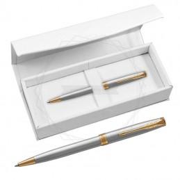 Długopis Parker Sonnet Stalowy GT w białym pudełku [1931507/4]Długopis Parker Sonnet Stalowy GT w białym...