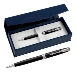Długopis Parker Sonnet Czarna Laka CT w granatowym pudełku [1931502/2]Długopis Parker Sonnet...