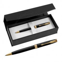 Długopis Parker Sonnet Czarny Matowy GT w czarnym pudełku [1931519/1]Długopis Parker Sonnet Czarny Matowy GT w...