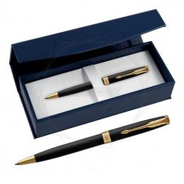 Długopis Parker Sonnet Czarny Matowy GT w granatowym pudełku [1931519/2]Długopis Parker Sonnet Czarny Matowy GT w...