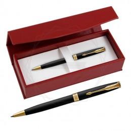 Długopis Parker Sonnet Czarny Matowy GT w czerwonym pudełku [1931519/3]Długopis Parker Sonnet Czarny Matowy GT w...