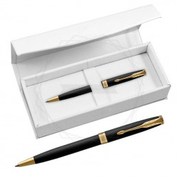 Długopis Parker Sonnet Czarny Matowy GT w białym pudełku [1931519/4]Długopis Parker Sonnet Czarny Matowy GT w...