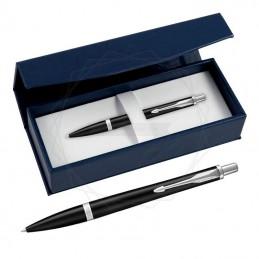 Długopis Parker Urban Muted Black CT w granatowym pudełku [1931575/2]Długopis Parker Urban Muted...