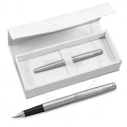 Pióro wieczne Parker Jotter Stalowy CT w białym pudełku [2030946/4]Pióro wieczne Parker Jotter...
