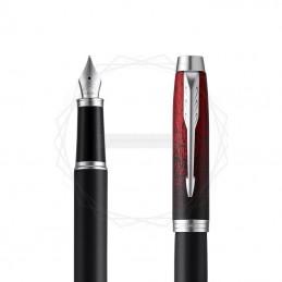 Pióro wieczne Parker IM Premium Red Ignite CT w brązowym pudełku [2073478/11]