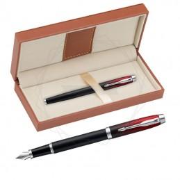 Pióro wieczne Parker IM Premium Red Ignite CT w brązowym pudełku [2073478/11]Pióro wieczne Parker IM Premium Red Ignite CT w...