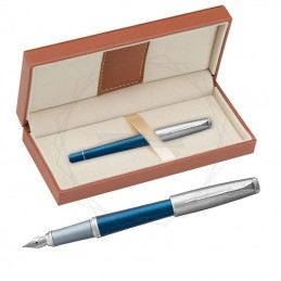 Pióro wieczne Parker Urban Premium Dark Blue CT w brązowym pudełku [1931563/11]Pióro wieczne Parker Urban...