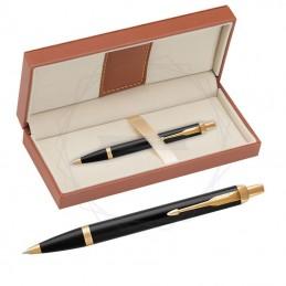 Długopis Parker IM Czarny GT w brązowym pudełku [1931666/11]Długopis Parker IM Czarny...
