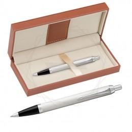 Długopis Parker IM biały CT w brązowym pudełku [1931675/11]Długopis Parker IM biały CT...