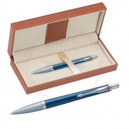 Długopis Parker Urban Premium Dark Blue CT w brązowym pudełku [1931565/11]Długopis Parker Urban...