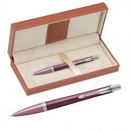 Długopis Parker Urban Premium Dark Purple CT w brązowym pudełku [1931569/11]Długopis Parker Urban...