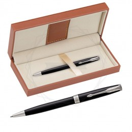 Długopis Parker Sonnet Czarna Laka CT w brązowym pudełku [1931502/11]Długopis Parker Sonnet...