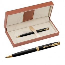 Długopis Parker Sonnet Czarny Matowy GT w brązowym pudełku [1931519/11]Długopis Parker Sonnet Czarny Matowy GT w...