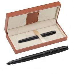Pióro wieczne Parker IM Achromatic Czarne w brązowym pudełku [2127741/5]