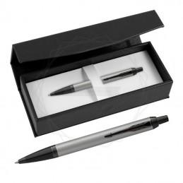Długopis Parker IM Achromatic Srebrny w czarnym pudełku [2127752/1]Długopis Parker IM Achromatic Srebrny w czarnym...