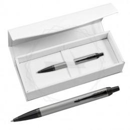 Długopis Parker IM Achromatic Srebrny w białym pudełku [2127752/4]Długopis Parker IM Achromatic Srebrny w białym...