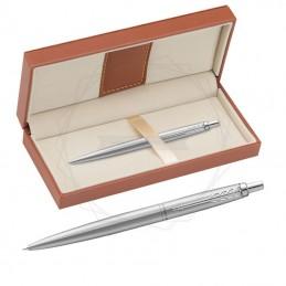 Długopis Parker Jotter XL Monochrome Srebrny w brązowym pudełku [2122756/11]Długopis Parker Jotter XL Monochrome Srebrny w...