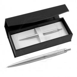 Długopis Parker Jotter XL Monochrome Srebrny w czarnym pudełku [2122756/10]Długopis Parker Jotter XL Monochrome Srebrny w...