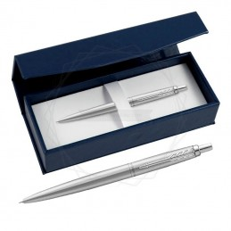 Długopis Parker Jotter XL Monochrome Srebrny w granatowym pudełku [2122756/9]Długopis Parker Jotter XL Monochrome Srebrny w...