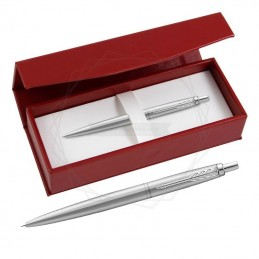 Długopis Parker Jotter XL Monochrome Srebrny w czerwonym pudełku [2122756/8]Długopis Parker Jotter XL Monochrome Srebrny w...