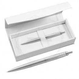 Długopis Parker Jotter XL Monochrome Srebrny w białym pudełku [2122756/7]Długopis Parker Jotter XL Monochrome Srebrny w...