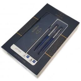 Zestaw upominkowy Pióro+Długopis Jotter Royal niebieski CT [KPLJOTTER1]Zestaw upominkowy Pióro+Długopis Jotter Royal...