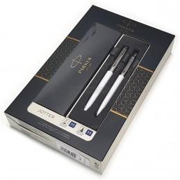 Zestaw upominkowy Pióro+Długopis Jotter biały CT [KPLJOTTER5]Zestaw upominkowy Pióro+Długopis Jotter biały...