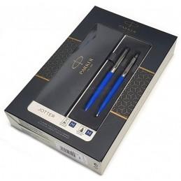 Zestaw upominkowy Pióro+Długopis Jotter niebieski CT [KPLJOTTER6]Zestaw upominkowy Pióro+Długopis Jotter...