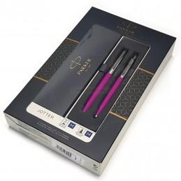 Zestaw upominkowy Pióro+Długopis Jotter różowy CT [KPLJOTTER8]Zestaw upominkowy Pióro+Długopis Jotter różowy...
