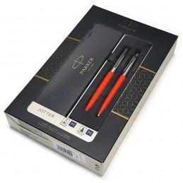 Zestaw upominkowy Pióro+Długopis Jotter pomarańczowy CT [KPLJOTTER9]Zestaw upominkowy Pióro+Długopis Jotter...
