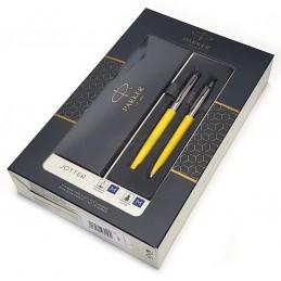 Zestaw upominkowy Pióro+Długopis Jotter żółty CT [KPLJOTTER10]Zestaw upominkowy Pióro+Długopis Jotter żółty...