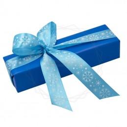 Pakowanie prezentów - Boże narodzenie, papier niebieski [WZ0022]Pakowanie prezentów - Boże narodzenie, papier...