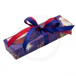 Pakowanie prezentów - Boże narodzenie, papier granatowy [WZ0024]Pakowanie prezentów - Boże narodzenie, papier...