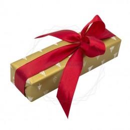 Pakowanie prezentów - Boże narodzenie, papier złoty [WZ0025]Pakowanie prezentów - Boże narodzenie, papier...