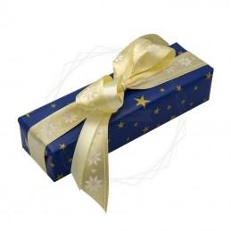 Pakowanie prezentów - Boże narodzenie, papier granatowy [WZ0026]Pakowanie prezentów - Boże narodzenie, papier...