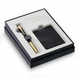 Zestaw Prezentowy Parker Długopis Urban Czarny GT + etui na karty [2122000]Zestaw Prezentowy Parker Długopis Urban Czarny...