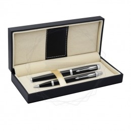 Długopis IM + Pióro Wieczne IM Parker Czarne CT [DUOIM1]Długopis IM + Pióro Wieczne IM Parker Czarne CT...