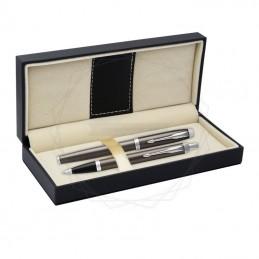 Długopis IM + Pióro Wieczne IM Parker Dark Espersso CT [DUOIM6]Długopis IM + Pióro Wieczne IM Parker Dark...