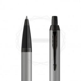 Długopis Parker IM Achromatic Srebrny [2127752]