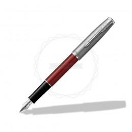 Pióro wieczne Parker Sonnet Sand Blasted Metal Czerwone [2146736]Pióro wieczne Parker Sonnet Sand Blasted Metal...