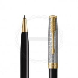 Długopis Parker Sonnet Metal & Black GT [2119787]