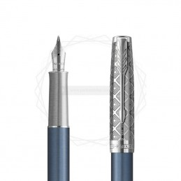 Pióro wieczne Parker Sonnet Metal Blue CT 18k. [2119743]