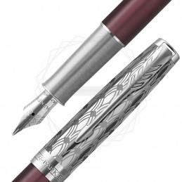 Pióro wieczne Parker Sonnet Metal Red CT 18k. [2119650]