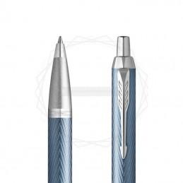 Długopis Parker IM Premium Niebiesko Szary CT [2143645]