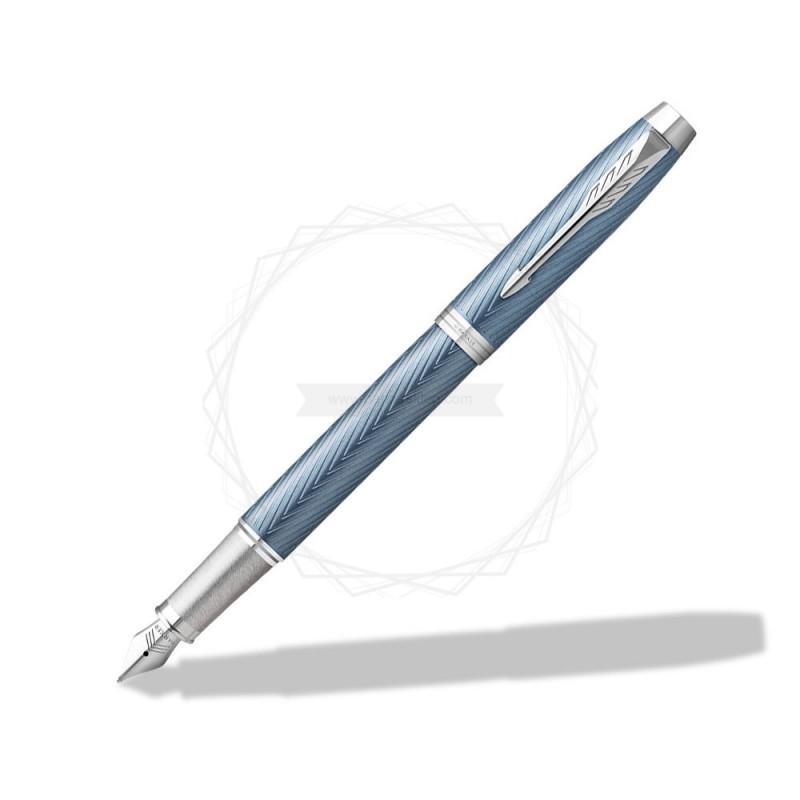 Pióro wieczne Parker IM Premium Niebiesko Szare CT [2143651]