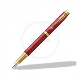 Pióro wieczne Parker IM Premium Czerwone GT [2143650]Pióro wieczne Parker IM Premium Czerwone GT...