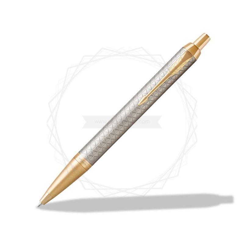 Długopis Parker IM Premium Warm Grey GT [1931687]