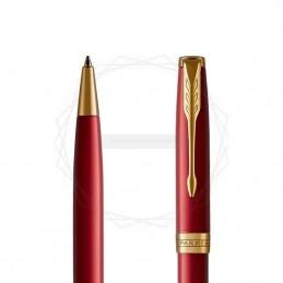 Długopis Parker Sonnet Czerwona Laka GT w granatowym pudełku [1931476/2]
