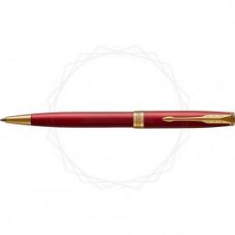 Długopis Parker Sonnet Czerwona Laka GT w brązowym pudełku [1931476/11]